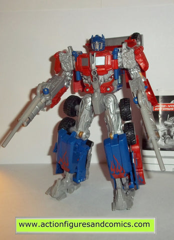 transformers movie OPTIMUS PRIME ROBO VISION 2007 TARGET voyager hasbro toys action figures instr