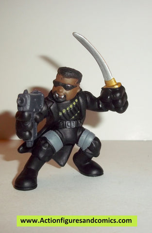 Marvel Super Hero Squad BLADE the vampire hunter complete pvc action figures