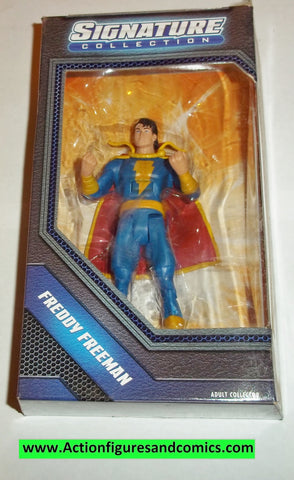 dc universe classics FREDDY FREEMAN signature collection series moc mip mib new action figures