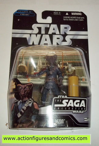 star wars action figures HEM DAZON clear cup VARIANT Saga moc mip mib