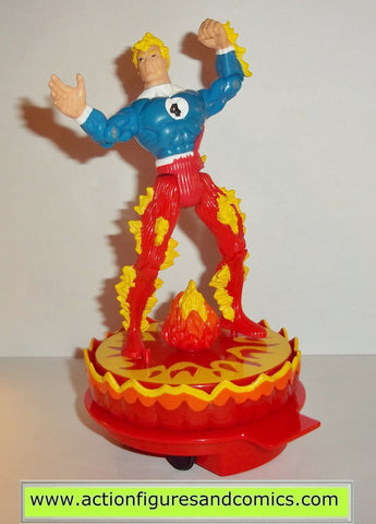 Fantastic four HUMAN TORCH 1996 series 2 firestorm action platform figures toy biz
