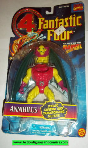 Fantastic Four ANNIHILUS 1995 marvel action hour moc mip mib