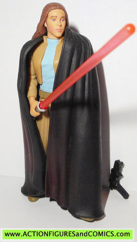 star wars action figures PRINCESS LEIA jedi knight expanded universe carrie fisher