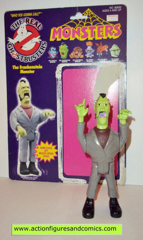 ghostbusters FRANKENSTEIN MONSTER 1988 the real kenner complete full card