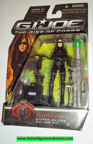 gi joe BARONESS 2009 v13 rise of Cobra movie series moc mip mib action figures