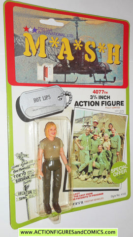 M*A*S*H* mash tv series action figures HOT LIPS 1982 moc action figure