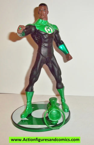 dc direct JOHN STEWART green lantern blackest night collectables action figures universe complete