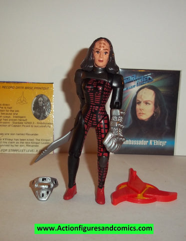 Star Trek AMBASSADOR K'EHLEYR playmates 1993 complete action figures
