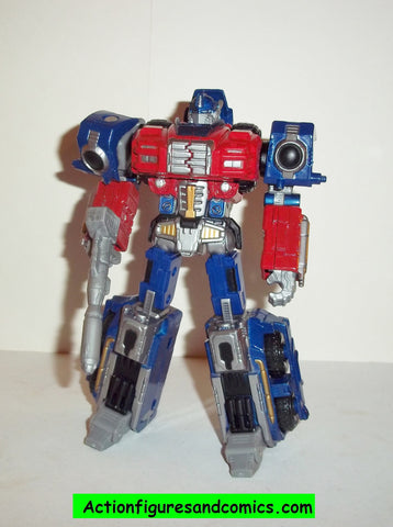 Transformers Titanium OPTIMUS PRIME war within target exclusive 25th  anniversary complete die cast 6 inch series