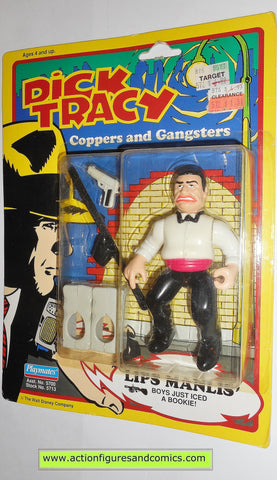 Dick Tracy LIPS MANLIS movie 1990 action figures playmates toys moc
