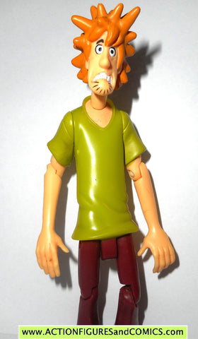 Scooby Doo SHAGGY ROGERS 5 inch Frightened villains creepy series action figure