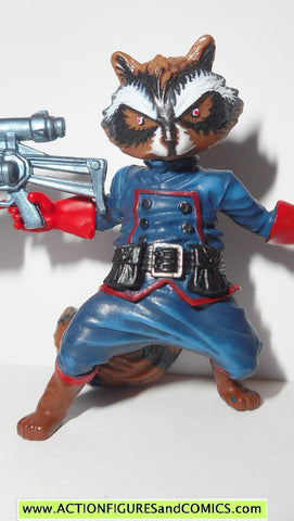 marvel universe ROCKET RACCOON complete guardians of the galaxy