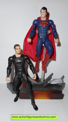 dc universe classics SUPERMAN vs GENERAL ZOD man of steel movie masters mattel