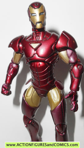 marvel universe IRON MAN extremis armor 7 2010 series 2 hasbro fig