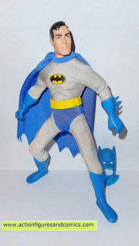 dc universe super heroes BATMAN BRUCE WAYNE Silver age 9 inch hasbro toys action figures