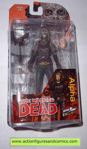 The Walking Dead ALPHA skybound exclusive mcfarlane toys action figures