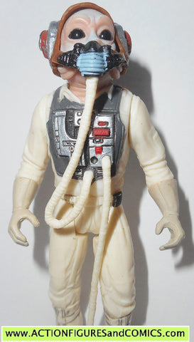 star wars action figures B-WING pilot TEN NUMB rebel power of the force