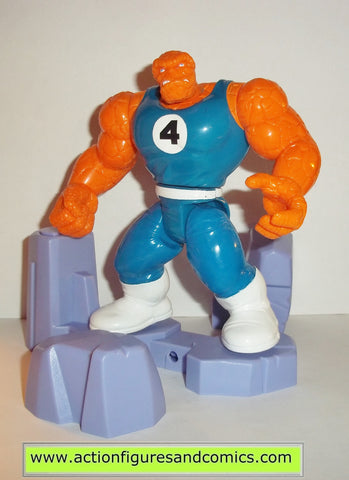 Fantastic Four THING 1994 series 2 marvel action hour 4 toy biz rock breaking action