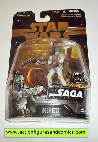 star wars action figures BOBA FETT battle of carkoon UGH Saga moc mip mib