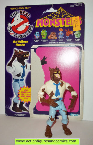 ghostbusters WOLFMAN MONSTER 1988 the real kenner complete full card