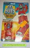 gobots GOOD KNIGHT mr-34 tonka ban dai toys action figures moc mip mib transformers #1052