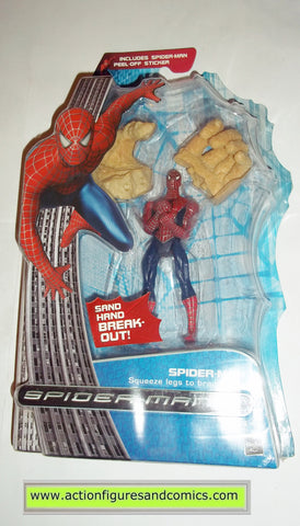 Spider-man movie 3 SAND HAND BREAK-OUT marvel legends moc mip mib