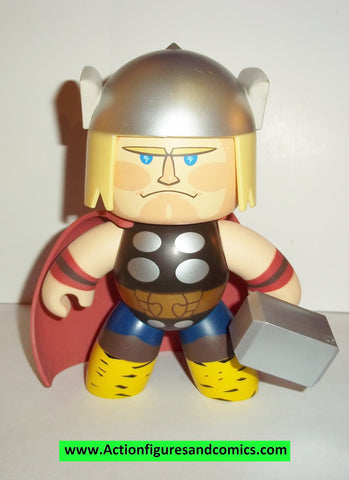 mighty muggs marvel universe THOR complete 2007 mugs 6 inch
