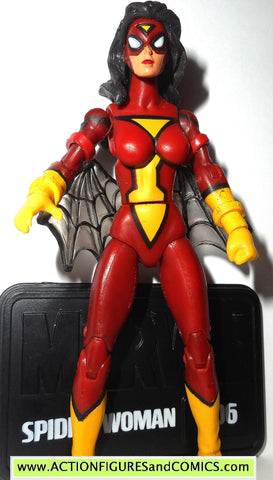 marvel universe SPIDER-WOMAN spider-man 2011 series 3 6 action figure