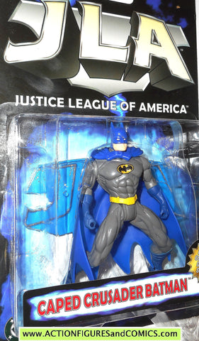 Total Justice JLA BATMAN BLUE CAPED CRUSADER justice league america moc