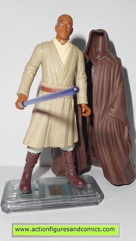 star wars action figures MACE WINDU 1999 episode I 1 complete hasbro toys