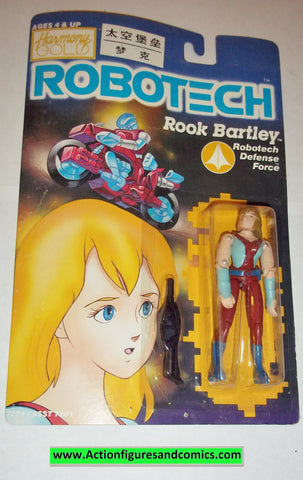 Robotech ROOK BARTLEY harmony gold 1985 moc mip mib matchbox