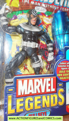 marvel legends BULLSEYE smile VARIANT galactus series 2005 toy biz action figures moc