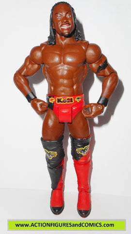 Wrestling WWE action figures KOFI KINGSTON series 8 wwf wcw
