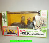 M*A*S*H mash tv series action figures 4077th JEEP MEDICAL UNIT 1982 moc mip mib
