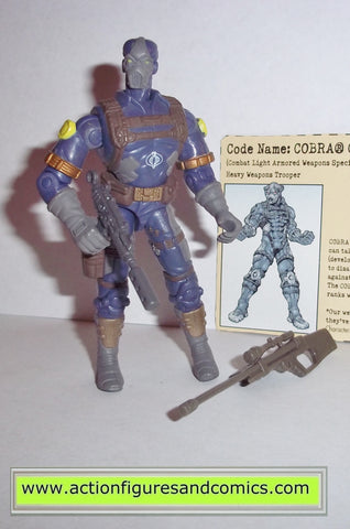 gi joe COBRA CLAWS 2002 v4 blue complete g.i joe vs cobra action figures c.l.a.w.s
