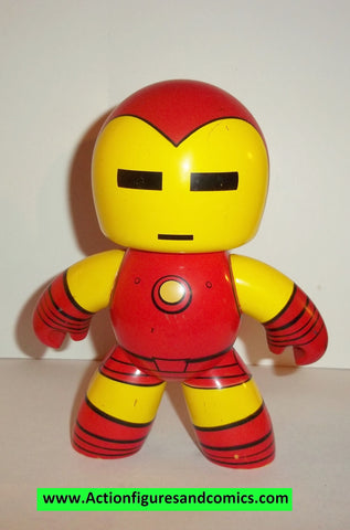 mighty muggs marvel universe IRON MAN ironman complete 2007 mugs 6 inch #1118