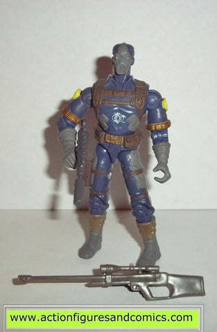 gi joe COBRA CLAWS 2002 v4 blue complete g.i joe vs cobra action figures c.l.a.w.s nofc