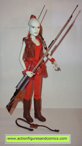 Aurra sing star wars bounty hunters action figures hasbro toys