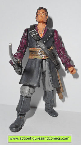 Pirates of the Caribbean WILL TURNER deluxe zizzle 2007 action figures 712