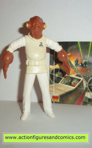 star wars action figures bend-ems ADMIRAL ACKBAR 1994 just toys justoys