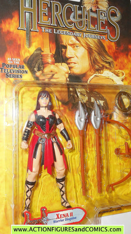 Hercules Legendary Journeys XENA II 2 warrior disguise action figures toy biz moc