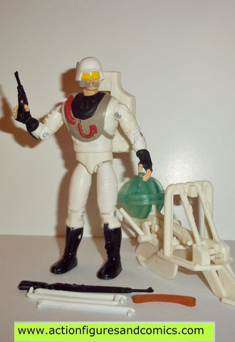 Gi joe ARCTIC STORMTROOPER 1995 sgt savage complete snow serpent
