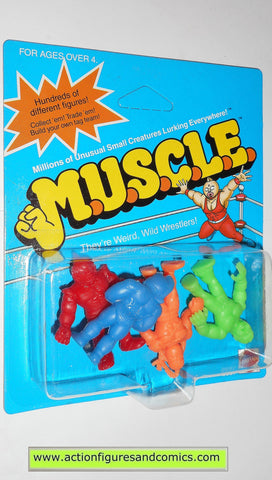 Muscle m.u.s.c.l.e men kinnikuman 4 pack moc CLASS B MONGOLMAN mattel action figures