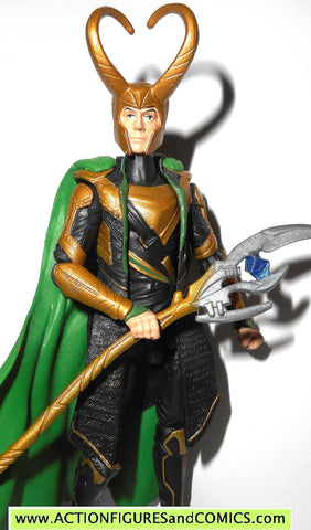 marvel universe LOKI cosmic spear thor Avengers movie complete 2012