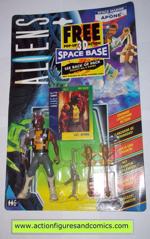 aliens vs predator kenner APONE SGT UK exclusive 1992 moc mip mib action figures