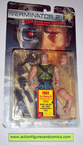 Terminator kenner DAMAGE REPAIR movie 2 future war action figures toys moc mip mib