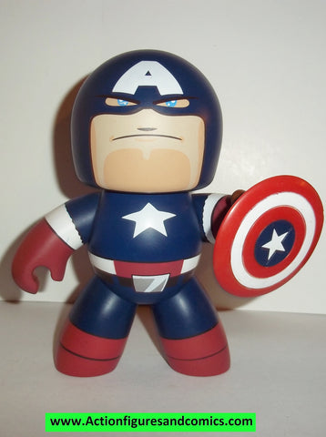 mighty muggs marvel universe CAPTAIN AMERICA series 2 2007 mugs 6 inch