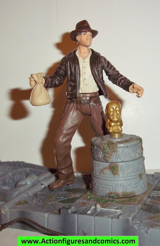 Indiana Jones hasbro TEMPLE TRAP 2008 complete kenner