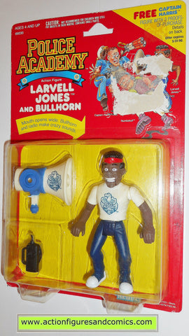 Police academy action figures LARVELL JONES 1988 moc movie #3207
