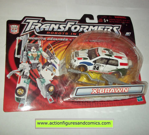 transformers RID X-BRAWN sports rally hasbro toys action figures 2000 2001